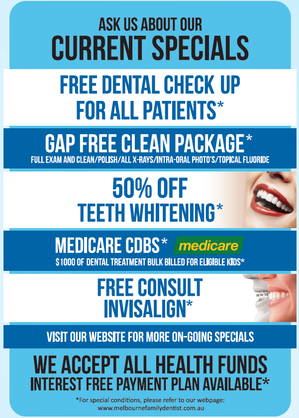 Promotion and Special Melbourne Family Dentist (2)